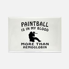 Paintball Designs Rectangle Magnet