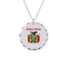 Bolivia Coat of arms Necklace