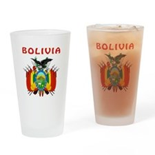 Bolivia Coat of arms Drinking Glass