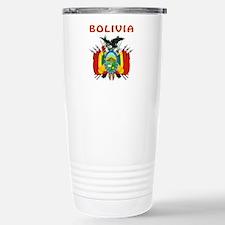 Bolivia Coat of arms Travel Mug