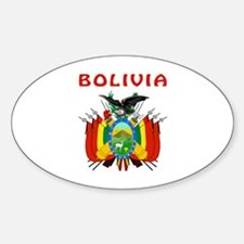 Bolivia Coat of arms Decal