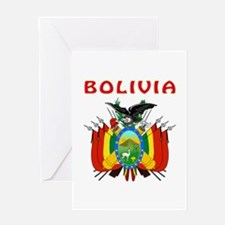 Bolivia Coat of arms Greeting Card