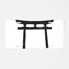 Shinto Arch Aluminum License Plate