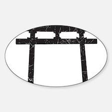 Shinto Arch Sticker (Oval)
