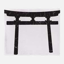 Shinto Arch Throw Blanket