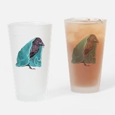 Crow Rescue Drinking Glass