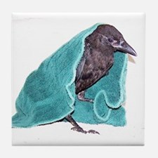 Crow Rescue Tile Coaster