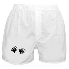 Bear Tracks Boxer Shorts