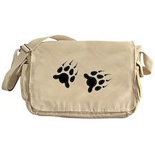 Bear Tracks Messenger Bag