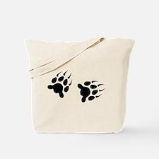 Bear Tracks Tote Bag