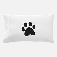 Paw Print Pillow Case