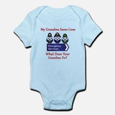 What Does Your Grandma Do? Infant Bodysuit