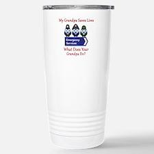 What Does Your Grandpa Do? Travel Mug