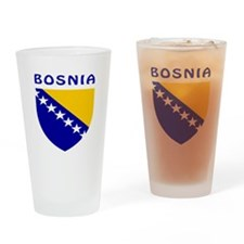 Bosnia Coat of arms Drinking Glass