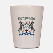 Botswana Coat of arms Shot Glass