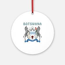 Botswana Coat of arms Ornament (Round)