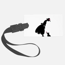 Scottie and Rose Luggage Tag