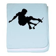Skater baby blanket