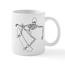 Skater Skeleton Mug