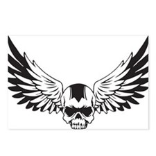 Skull + Wings Postcards (Package of 8)