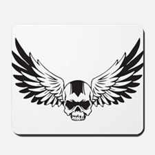 Skull + Wings Mousepad