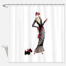 Darcey.png Shower Curtain