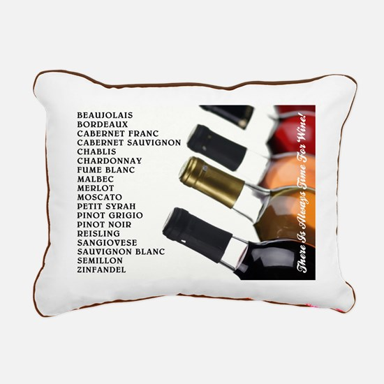 There is always... Rectangular Canvas Pillow
