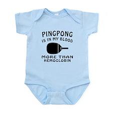 Ping pong Designs Infant Bodysuit