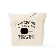 Ping pong Designs Tote Bag
