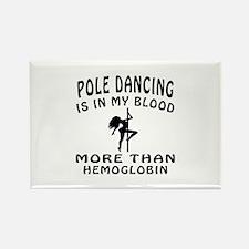Pole Dancin Designs Rectangle Magnet