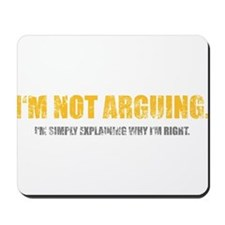 Spruch_0033 Mousepad