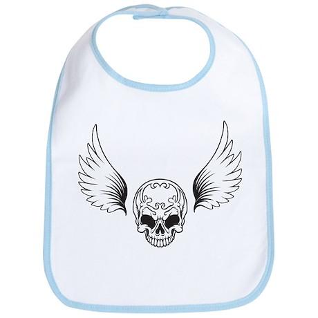 Skull Wings Bib