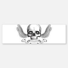 Skull Bumper Bumper Sticker