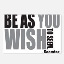 Be As you Wish To Seem Postcards (Package of 8)