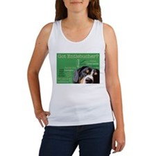 Got Entlebucher? Woof Cloud Green Women's Tank Top