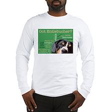 Got Entlebucher? Woof Cloud Green Long Sleeve T-Sh
