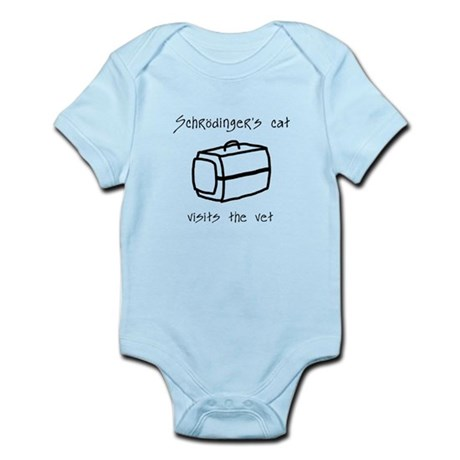 Schrodingers Cat Carrier Infant Bodysuit
