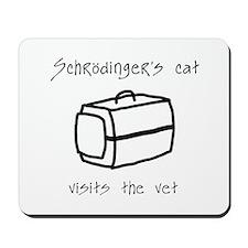 Schrodingers Cat Carrier Mousepad