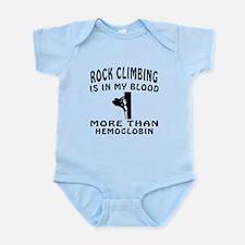 Rock Climbing Designs Infant Bodysuit