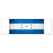 bandera Honduras Bumper Sticker
