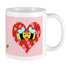 Bee Mine Valentine Bev Mug