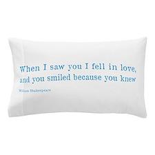 Shakespeare on Love (Hamlet) Pillow Case
