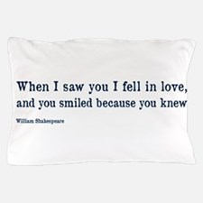 Shakespeare on Love (Hamlet) Pillow Case