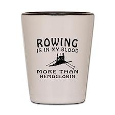 Rowing Designs Shot Glass