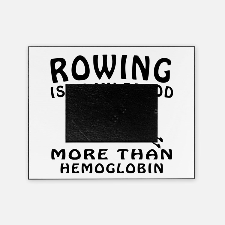 Rowing Designs Picture Frame