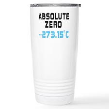 ABSOLUTE ZERO, -273.15c Travel Coffee Mug