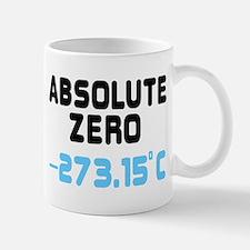 ABSOLUTE ZERO, -273.15c Mug