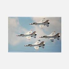 Thunderbirds Rectangle Magnet