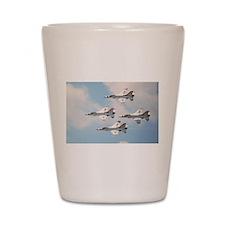 Thunderbirds Shot Glass