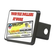 OBAMA LOTTERY Hitch Cover